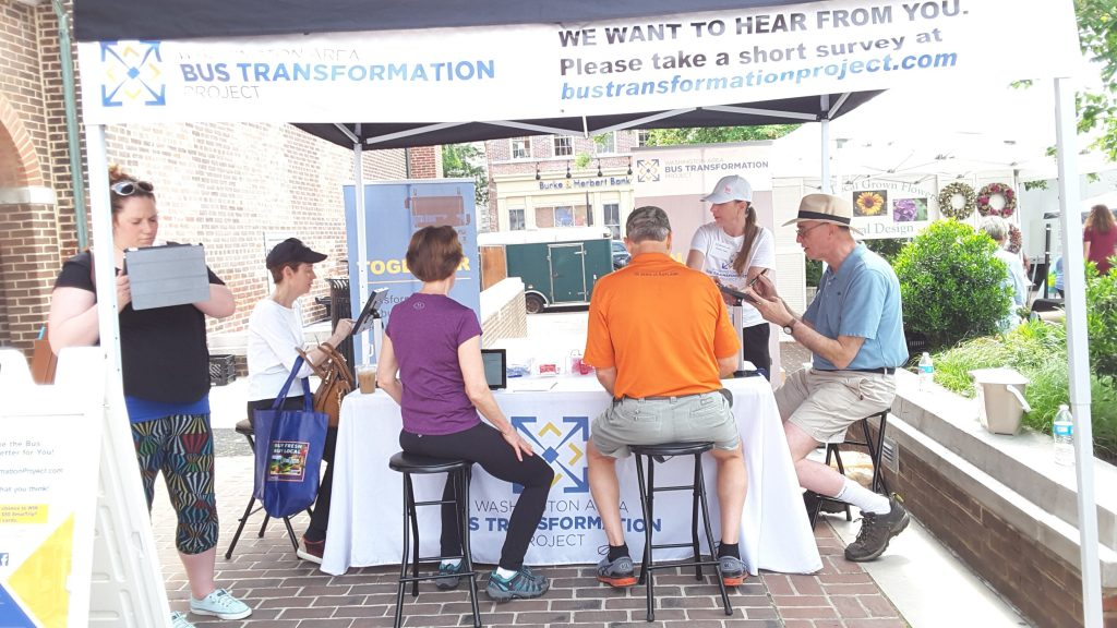 Old Town Farmers Market event booth